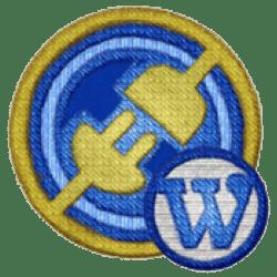 Gratis WordPress Training 1 badge1 custom