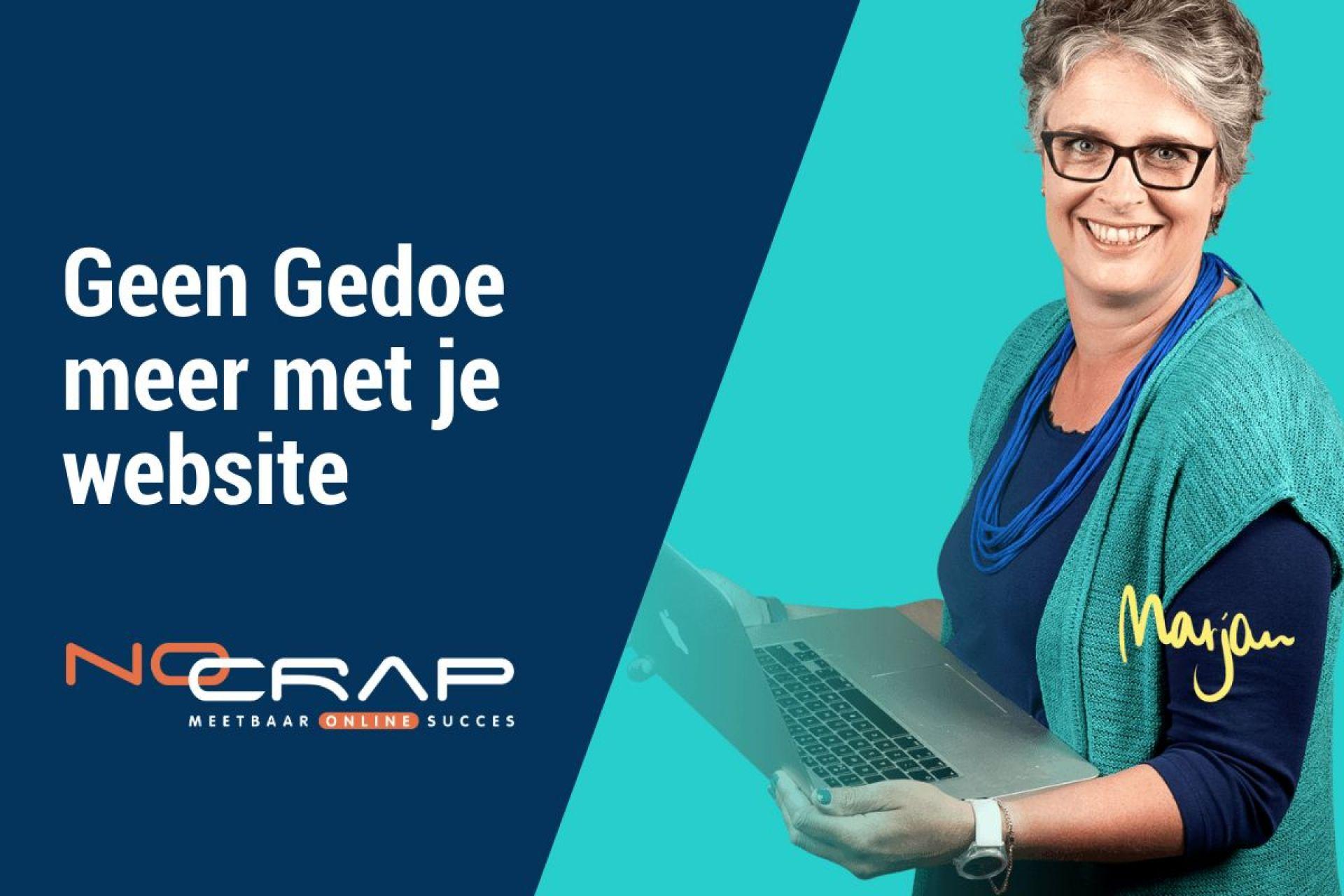 geen gedoe meer met je website - No Crap Online